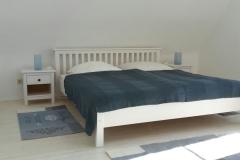 Bed-n-Bow-Ferienhaus-großes Schlafzimmer